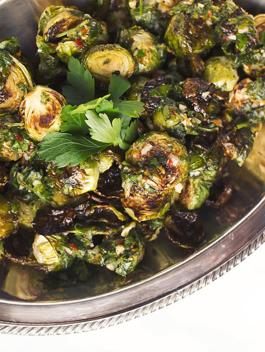Roasted Brussel Sprouts featured